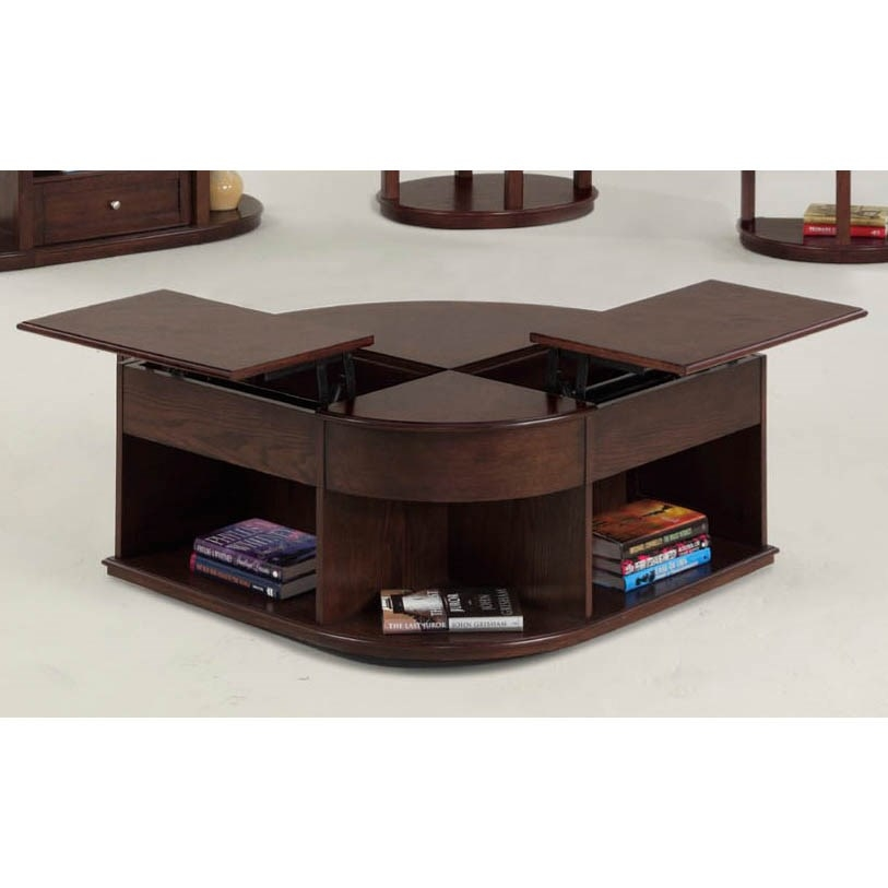 Impressive Elite Lift Top Coffee Table Furniture Intended For Progressive Furniture P543 25 Sebring Contemporary Castered Double (View 38 of 50)