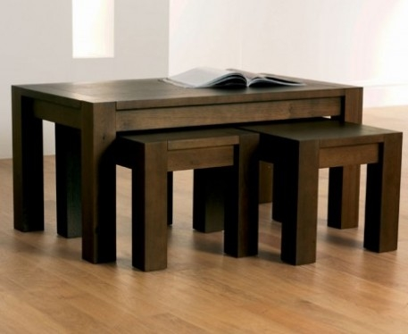 Impressive Elite Nest Coffee Tables With Regard To Lyon Walnut Dining Table Fancy Lyon Walnut Dining Table About (Image 21 of 50)