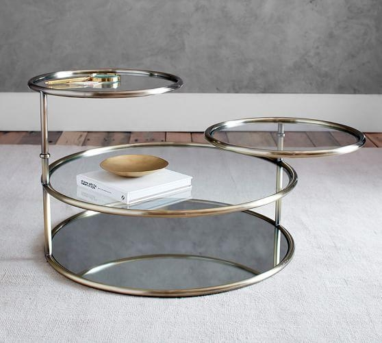 Impressive Elite Swivel Coffee Tables Throughout Base Gold Swivel Coffee Table (View 22 of 50)