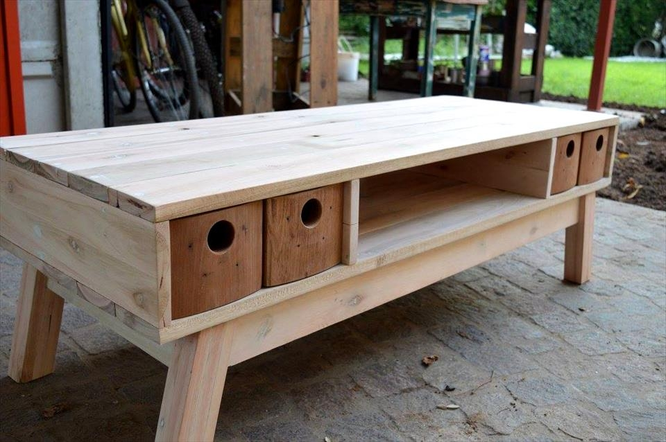 Impressive Famous Bench TV Stands With Pallet Tv Stands 99 Pallets (Image 27 of 50)