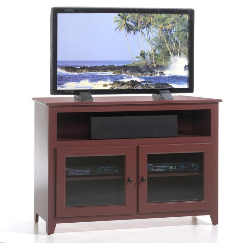 Impressive Famous Cherry Wood TV Stands Inside Made Tv Console (Image 27 of 50)