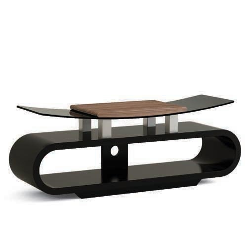 Impressive Famous Curve TV Stands For Curved Mdf Wood And Bending Glass Tv Stands From China (View 19 of 50)