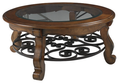 Impressive Famous Glass Circle Coffee Tables For Round Glass Top Coffee Table (Image 27 of 50)