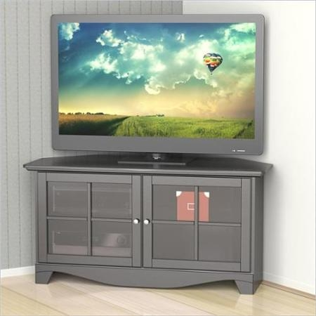 Impressive Famous Grey Corner TV Stands Pertaining To Cheap Walmart Corner Tv Stand Find Walmart Corner Tv Stand Deals (Image 31 of 50)