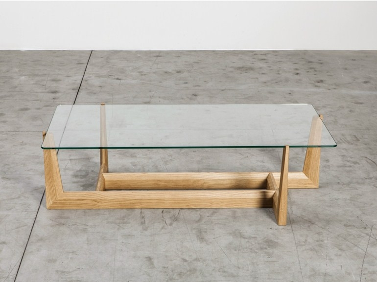 Impressive Famous Low Glass Coffee Tables Intended For Gaudo Rectangular Coffee Table Miniforms (Image 28 of 50)