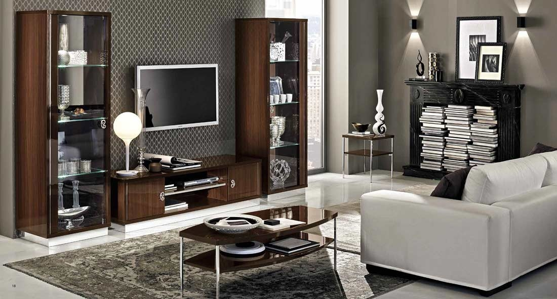 Impressive Famous Modern Walnut TV Stands Throughout Modern Walnut Tv Stand Collection Ef Rica Tv Stands (View 23 of 50)