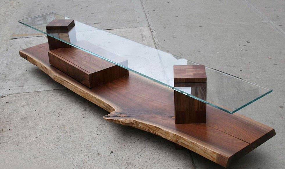 Impressive Famous Narrow Coffee Tables  Pertaining To Thin Coffee Table (Image 23 of 50)