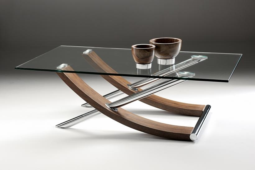 Impressive Famous Rectangle Glass Chrome Coffee Tables Throughout Coffee Table Oval Coffee Table Glass Top Shelf Tea Modern (View 37 of 50)