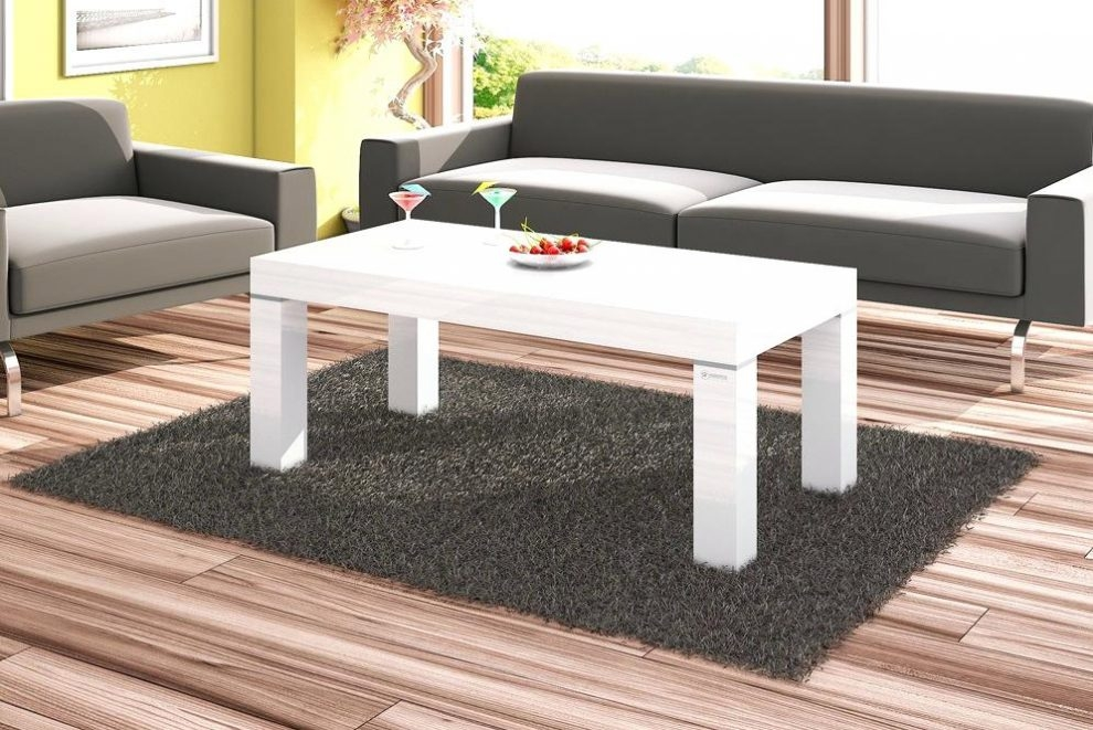 Impressive Famous White High Gloss Coffee Tables Regarding High Gloss White Coffee Table Dealhackrco (Image 26 of 50)