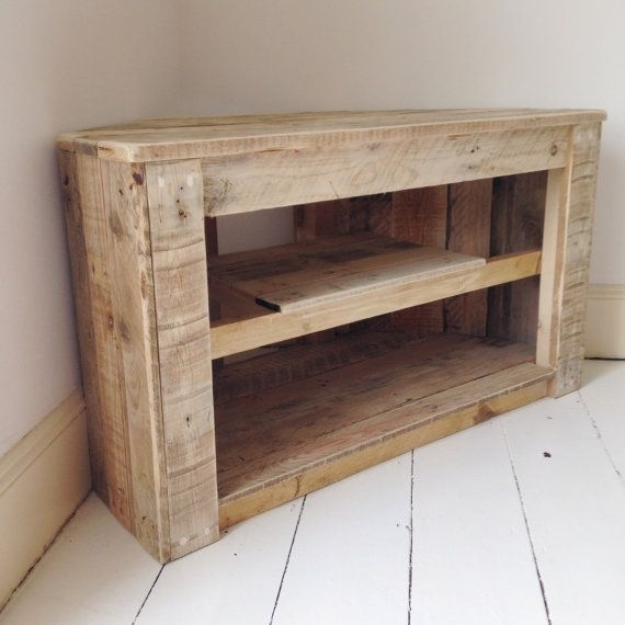 Impressive Famous White Rustic TV Stands In Best 25 Corner Tv Table Ideas On Pinterest Corner Tv Tv Stand (Image 26 of 50)