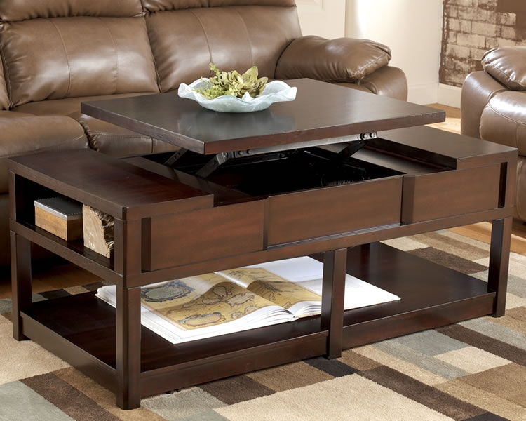 Impressive Fashionable Coffee Tables With Lift Top Storage Throughout Lift Top Small Coffee Table With Storage Drawers Eva Furniture (View 46 of 50)