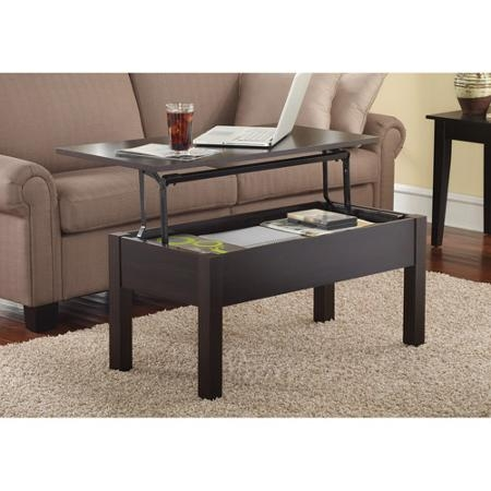Impressive Fashionable Coffee Tables With Rising Top Pertaining To Lift Top Coffee Table Walmart (Image 17 of 40)