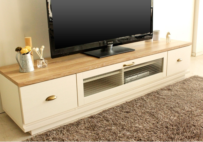 Impressive Fashionable French Country TV Stands With Best99 Rakuten Global Market Tv Stand Wood Tv Stand Wooden (View 7 of 50)