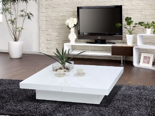 Impressive Fashionable Lacquer Coffee Tables With Modern White Lacquer Coffee Table Decoration Coffee Tables Guide (Image 23 of 40)