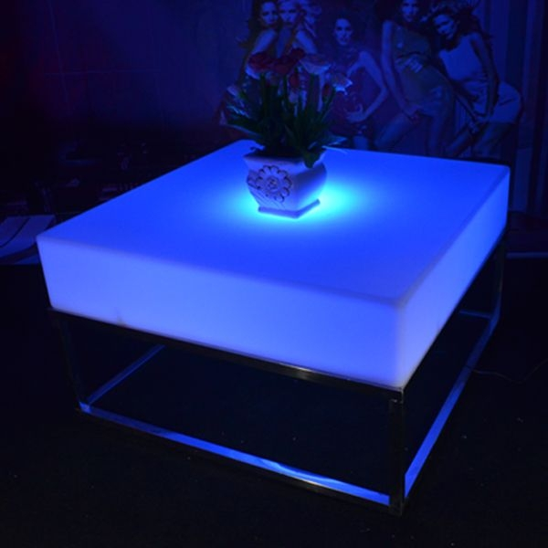 Impressive Fashionable Led Coffee Tables Regarding Led Coffee Table (Image 29 of 50)