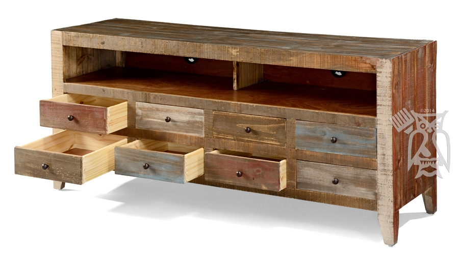 Impressive Fashionable Solid Pine TV Stands Inside Hoot Judkins Furnituresan Franciscosan Josebay Areaartisan (View 23 of 50)
