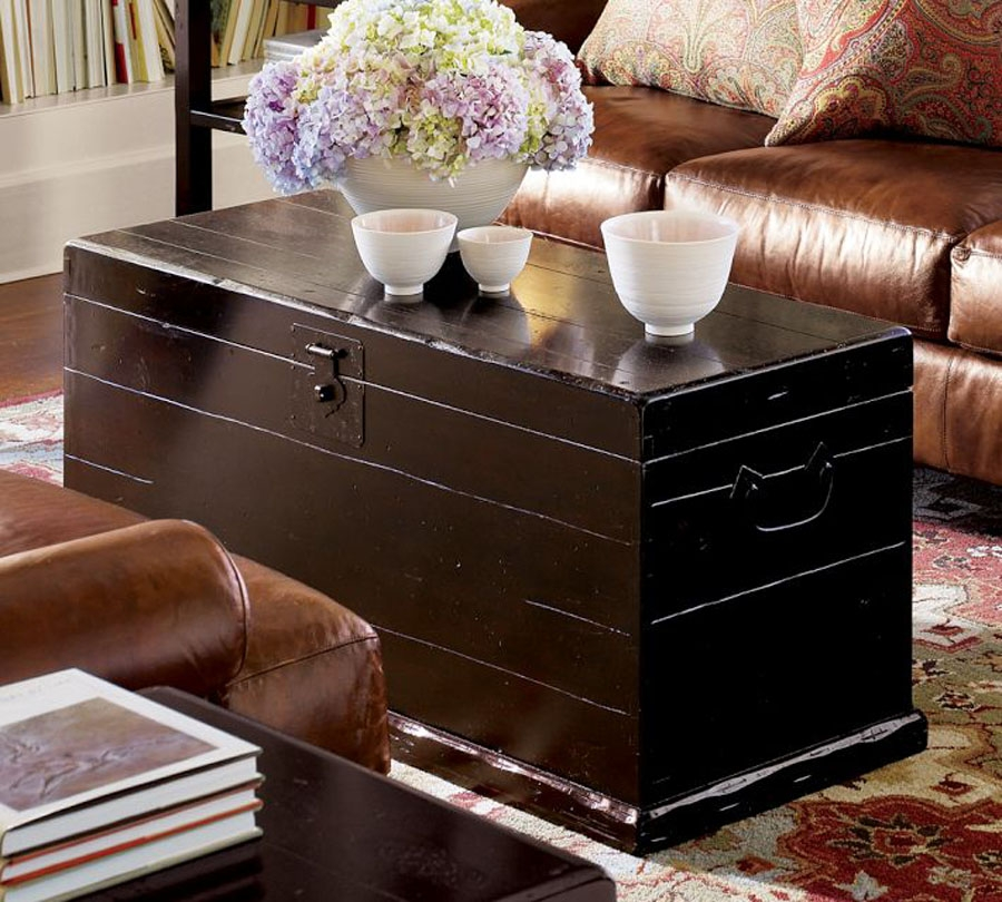 Impressive Fashionable Trunk Coffee Tables  Inside Rattan Trunk Coffee Table (Image 30 of 50)