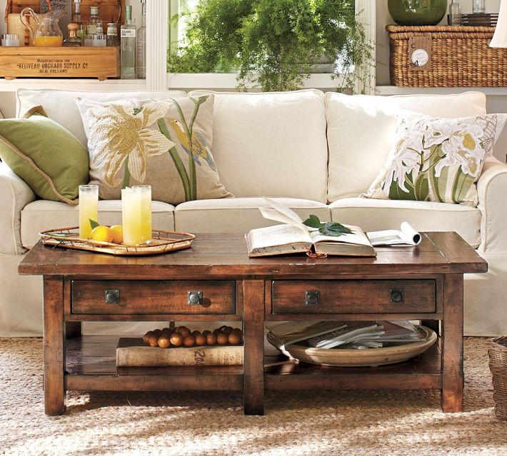 Impressive Favorite Antique Glass Pottery Barn Coffee Tables Within Coffee Tables Unique Pottery Barn Coffee Tables Design Pottery (Image 28 of 50)