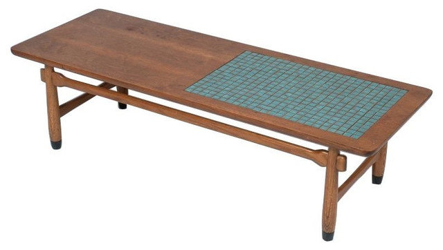 Impressive Favorite C Coffee Tables Regarding Sold Out Mid Century Mosaic Inlay Coffee Table 1300 Est (View 22 of 50)