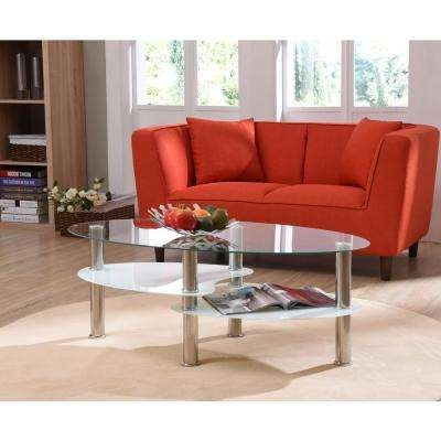 Impressive Favorite Chrome Leg Coffee Tables Pertaining To Coffee Table Clear Accent Tables Living Room Furniture The (Image 31 of 50)