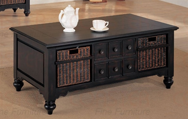 Impressive Favorite Coffee Tables With Baskets Underneath With Regard To Coffee Table Inspiring Coffee Table With Storage Baskets Design (Image 20 of 40)