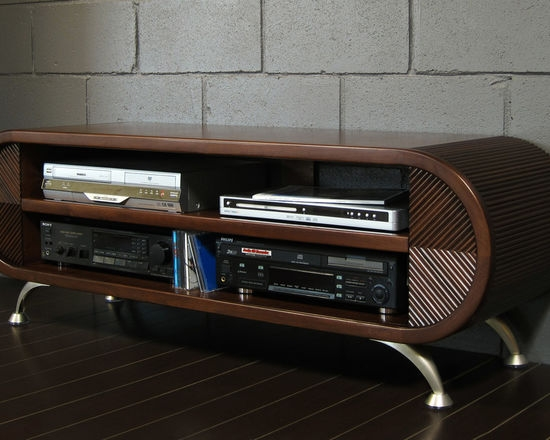 Impressive Favorite Curve TV Stands Within Rounded Tv Stand Cascade (View 33 of 50)