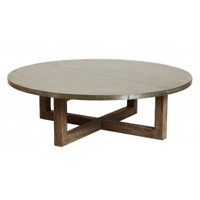Impressive Favorite Dark Wood Round Coffee Tables Regarding Elegant Round Dark Wood Coffee Table With Reclaimed Wood Coffee (View 25 of 50)