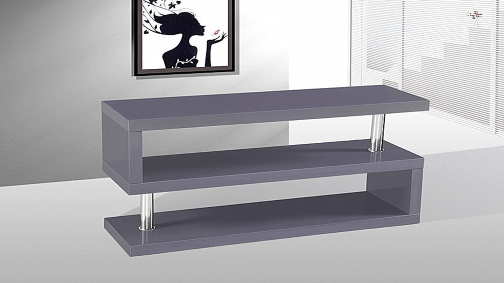 Impressive Favorite Grey TV Stands For Grey Tv Stand Home Design Ideas (Image 30 of 50)