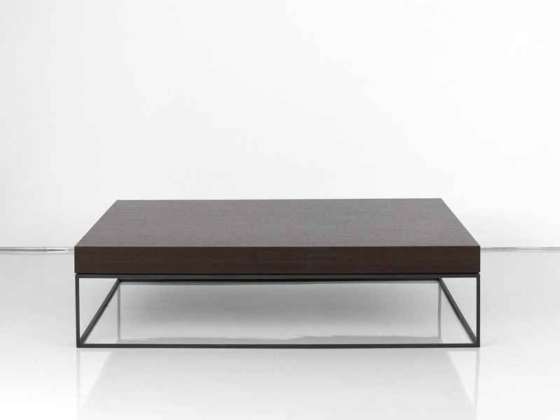 Impressive Favorite Low Square Wooden Coffee Tables Inside Interni Edition Coffee Tables Archiproducts (Image 24 of 50)