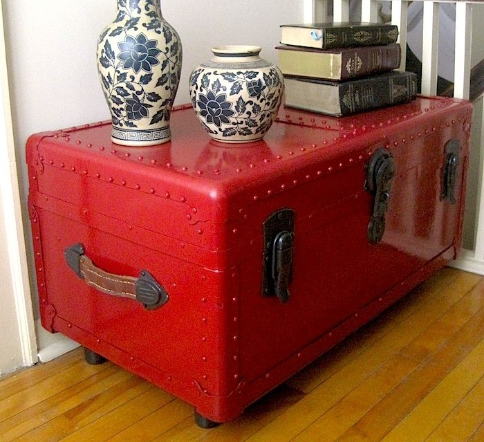 Impressive Favorite Old Trunks As Coffee Tables Intended For 1967 Best Chests Trunks Coffee Tables Images On Pinterest (Image 26 of 50)