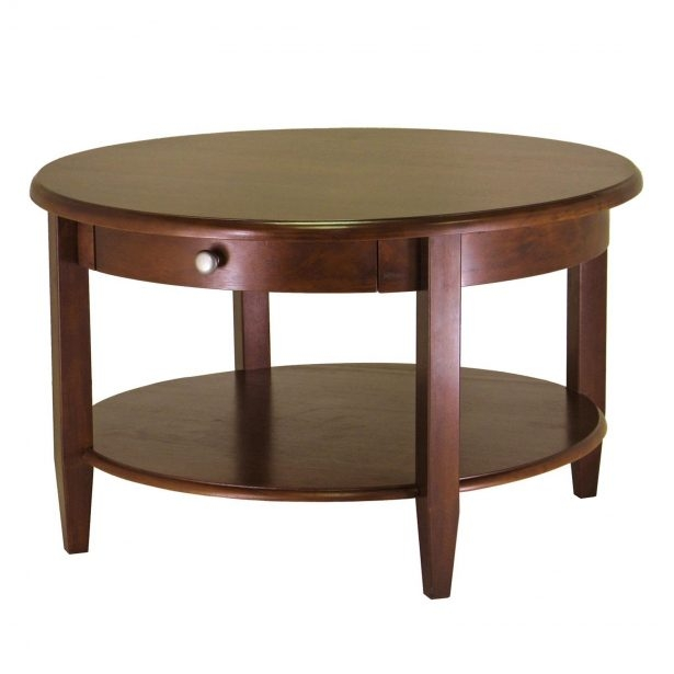 Impressive Favorite Oval Shaped Coffee Tables For Modern Coffee Table Contemporary Wooden Coffee Tables Brown Finish (View 7 of 50)