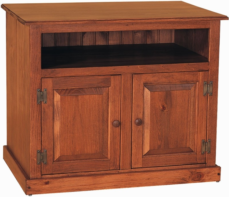 Impressive Favorite Pine Wood TV Stands With Amish Pine Wood Small Tv Stand (Image 26 of 50)