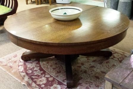 Impressive Favorite Round Oak Coffee Tables In Coffee Table Leather Coffee Table With Storage Black Leather (View 28 of 40)