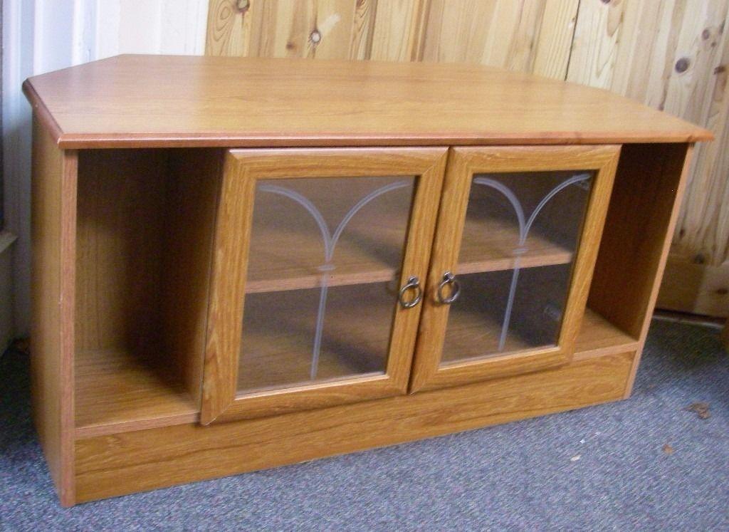Impressive Favorite Solid Pine TV Cabinets With Corner Solid Pine Tv Cabinet With Double Glass Doors In (Image 26 of 50)