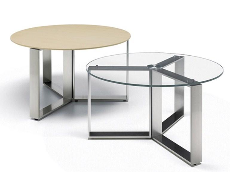 Impressive High Quality Aluminium Coffee Tables With Altagamma Round Coffee Table Estel Group Design Dario Covi (Image 28 of 50)