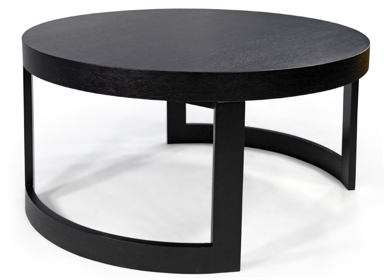 Impressive High Quality Black Circle Coffee Tables Within Exellent Round Black Coffee Table Glass Top Other Gallery For (View 2 of 50)