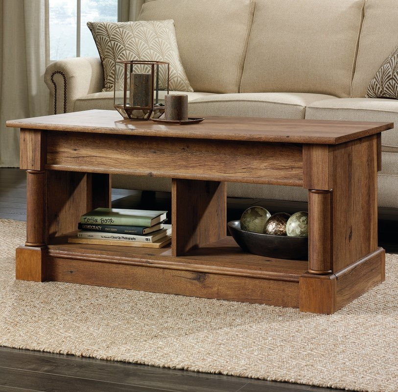 Impressive High Quality Coffee Tables With Raisable Top Within Find The Best Storage Coffee Tables Wayfair (View 46 of 50)