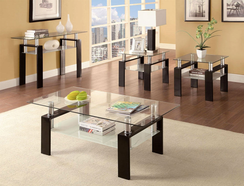 Impressive High Quality Contemporary Coffee Table Sets Intended For Modern Coffee Table Set (Image 25 of 50)