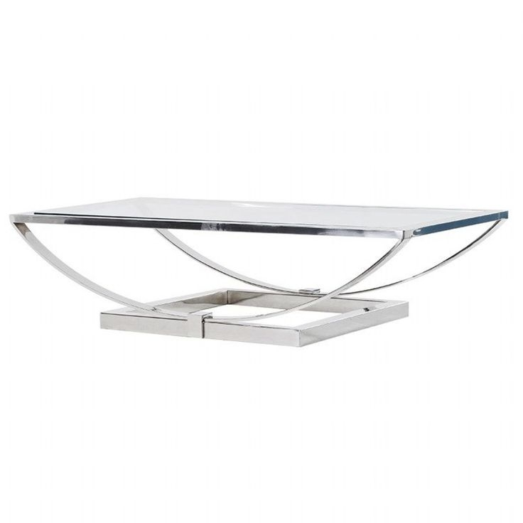 Impressive High Quality Glass Steel Coffee Tables Within 177 Best Glass Coffee Tables Images On Pinterest Glass Coffee (Image 28 of 50)
