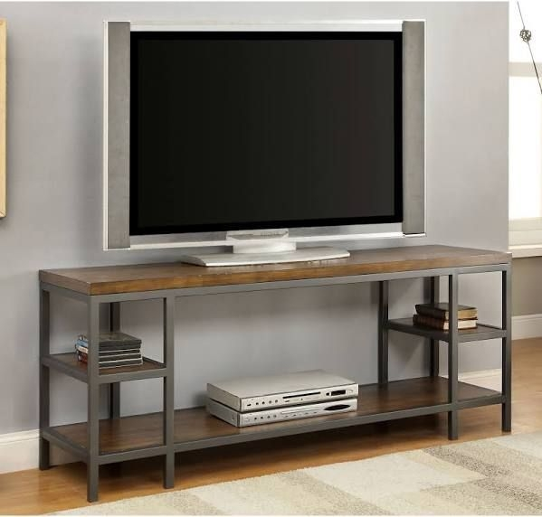 Impressive High Quality Industrial Metal TV Stands With Regard To Best 25 Metal Tv Stand Ideas On Pinterest Industrial Tv Stand (Image 25 of 50)