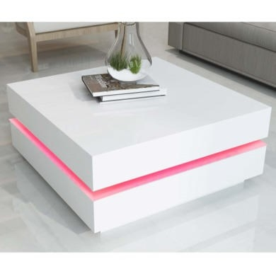 Impressive High Quality Led Coffee Tables With Regard To Led Coffee Table (Image 31 of 50)
