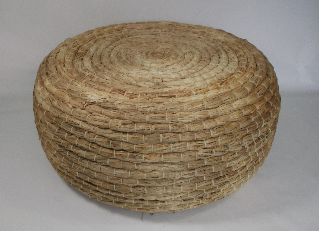 Impressive High Quality Round Woven Coffee Tables With Regard To Murrell Round Woven Thick Rope Coffee Table Mecox Gardens (Image 33 of 50)