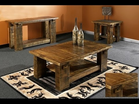 Impressive High Quality Rustic Barnwood Coffee Tables Regarding Barnwood Furniture Making Barnwood Furniture Youtube (View 48 of 50)