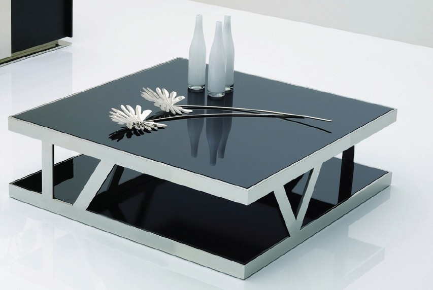 Impressive High Quality Square Black Coffee Tables With Black Square Coffee Table Square Coffee Tables With The Storage (View 31 of 40)