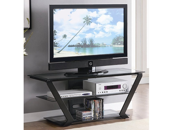 Impressive High Quality Triangle TV Stands Intended For Inverted Triangle Tv Stand On The Go Living (Image 23 of 50)
