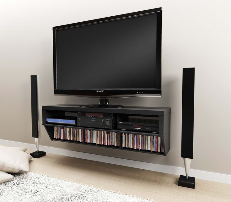 Impressive High Quality Wall Mounted TV Stands For Flat Screens Throughout 14 Best Tv Area Images On Pinterest Home Tv Walls And Live (Image 20 of 50)