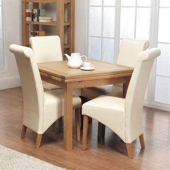 Impressive Ideas Square Extendable Dining Table Smartness Design Throughout Extendable Dining Table And 4 Chairs (Image 12 of 20)
