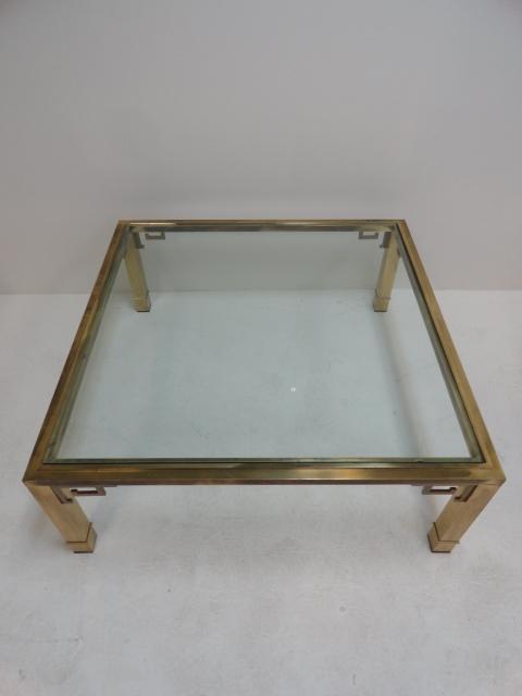 Impressive Latest Antique Brass Glass Coffee Tables Regarding Antique Brass Coffee Table (Image 26 of 50)
