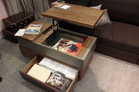 Impressive Latest Desk Coffee Tables Throughout Perfect Desk Coffee Table Useful Coffee Table Decoration Ideas (Image 24 of 50)