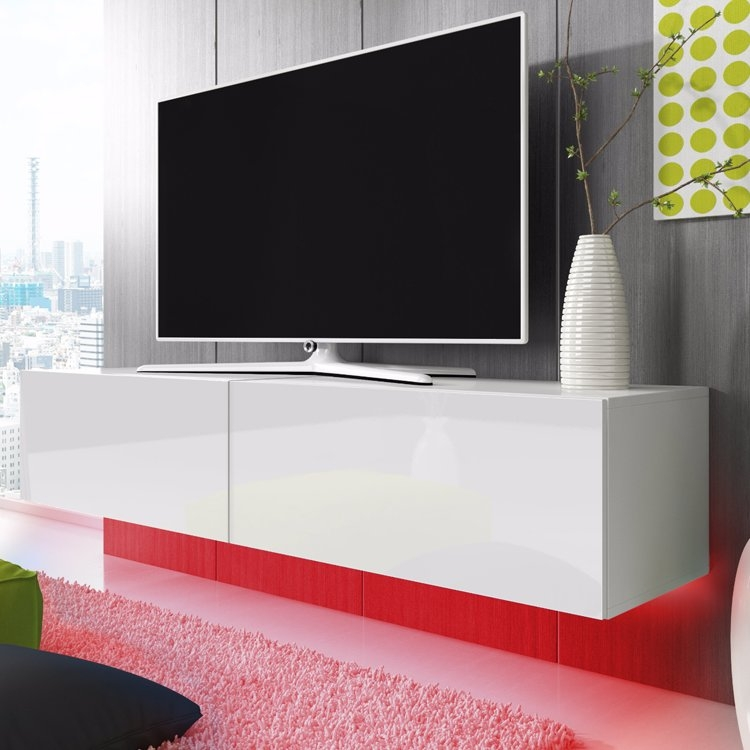 Impressive Latest Double TV Stands Intended For Double Tv Stand (Image 27 of 50)
